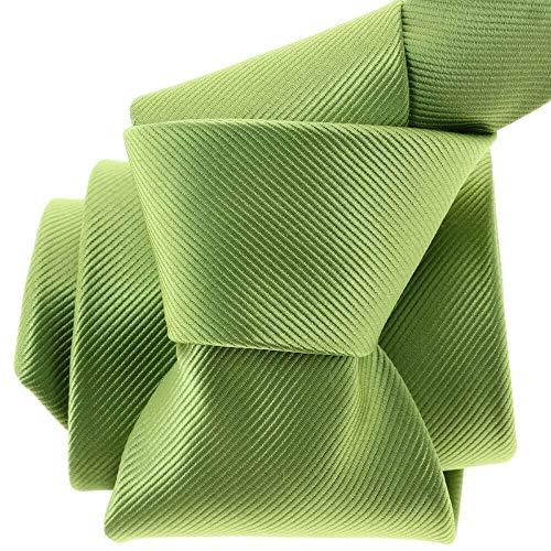 Clj Charles Le Jeune - Cravate Clj, Menton, Vert Anis