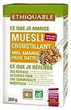 Ethiquable Muesli Croustillant Miel Amande Figue Datte Bio 350 g - Lot de 6