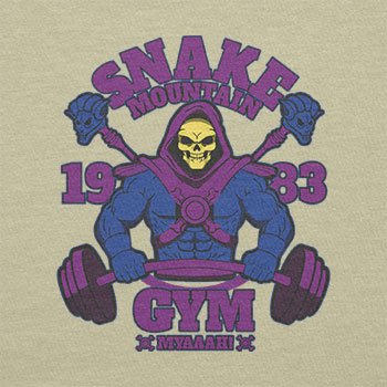 Texlab–Snake Mountain Fitness–sacchetto di stoffa Naturale