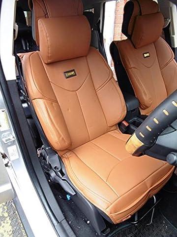 Ford C-Max YMDX 07–housses de sièges auto Housse de volant en PVC Marron SW 8 M Motorsports similicuir PVC Rossini en similicuir Marron