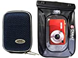 Foto Custodia Per Fotocamera Hard Box Memo M Steel Set con sacchetto subacquea fino a 6meter
