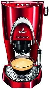 "Tchibo 273494 Cafissimo ""Hot Red"" Kaffeemaschine für Espresso / Caffe Crema / Filterkaffee / Milchschaum"