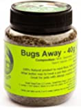 Bugs Away! Herbal Mix for Cats and Dogs - The best NATURAL flea treatment on the market, Naturally repels fleas, mites and ticks (40G Trial Size Pot)