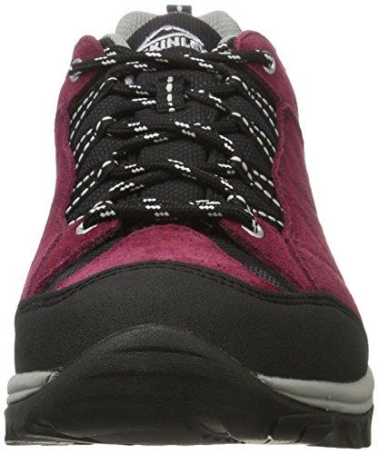Red Grey Chaussures gris McKinley Dark W–Rouge foncé Nago Aqx versatiles z010xUv