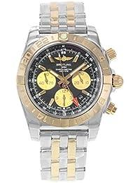 Breitling Chronomat 44GMT cb042012/BB86–375C 18K Rose Gold und Stahl Armbanduhr