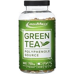 IronMaxx Green Tea – Grüntee-Extrakt in Kapseln – 1 x 300 Kapseln (266,3g)