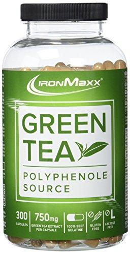 IronMaxx Green Tea / Grüntee-Extrakt in Kapseln / 1 x 300 Kapseln (266,3g)