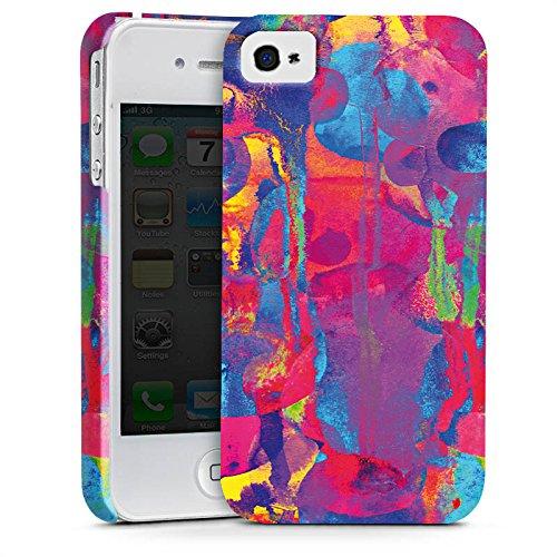 Apple iPhone X Silikon Hülle Case Schutzhülle Color Explosion Farben Bunt Premium Case glänzend