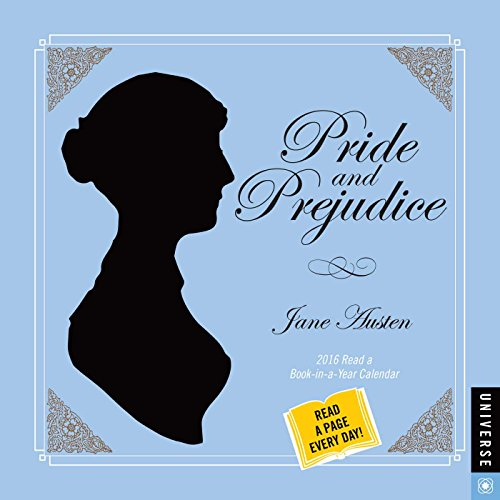 Pride and Prejudice 2016 Calendar