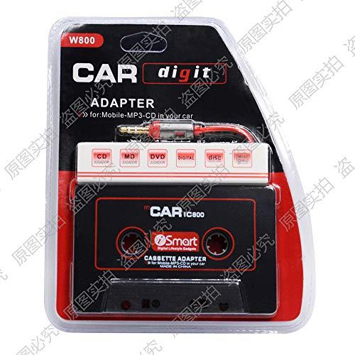 Car Tape Adapter für Ihr Autoradio zum verbinden mit Ihrem Smartphone iPhone/Android phone/MP3/MP4/CD/MD/PC ()