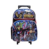"Marvel Avengers Infinity War Black & Red Small 12"" Boy's Rolling School Backpack"