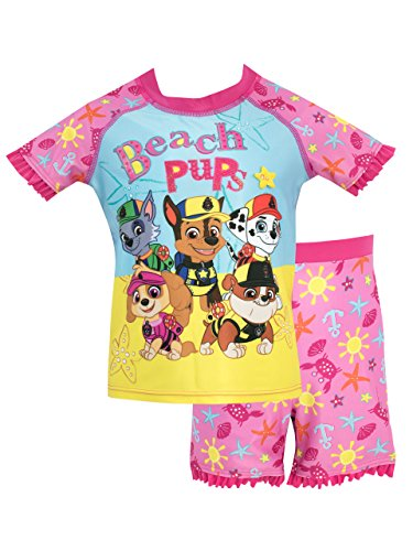Paw Patrol Girls Skye Marshall & Group Swim Set Ages 6 Months To 8 Years