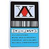 Yicare 2021 Bleu Hunter X Hunter Licence Carte Cosplay Hisoka Kurapika Killua Zoldyck PVC Cartes Japon Animé Carte de crédit