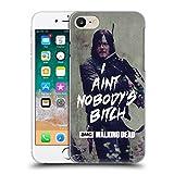 Offizielle AMC The Walking Dead Daryl Typografie Ruckseite Hülle für Apple iPhone 7 / iPhone 8