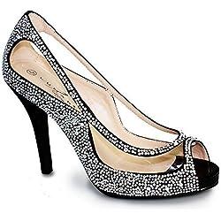 Sapphire Boutique by Sapphire , Damen Pumps Black (SHOE ONLY)