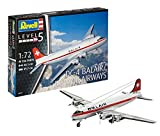Revell Modellbausatz Flugzeug 1:72 - DC-4 Balair/Iceland Airways im Maßstab 1:72, Level 5, originalgetreue Nachbildung mit vielen Details, 04947