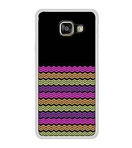 Fuson Designer Back Case Cover for Samsung Galaxy A7 (6) 2016 :: Samsung Galaxy A7 2016 Duos :: Samsung Galaxy A7 2016 A710F A710M A710Fd A7100 A710Y :: Samsung Galaxy A7 A710 2016 Edition (waves design designer art beauty)