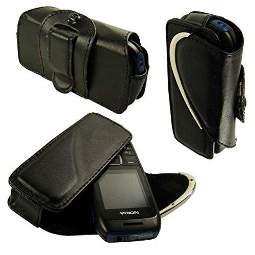 caseroxx Quertasche Handy-Tasche für Nokia 1616 aus Kunstleder, Handy-Hülle in schwarz