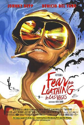 Fear and Loathing in Las Vegas-Johnny Depp-Film Poster, Riesen, Papier, 100 x 70 cm