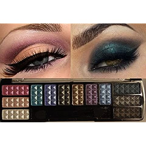 Eye Shadow Makeup Cosmetic 12 Color Shimmer