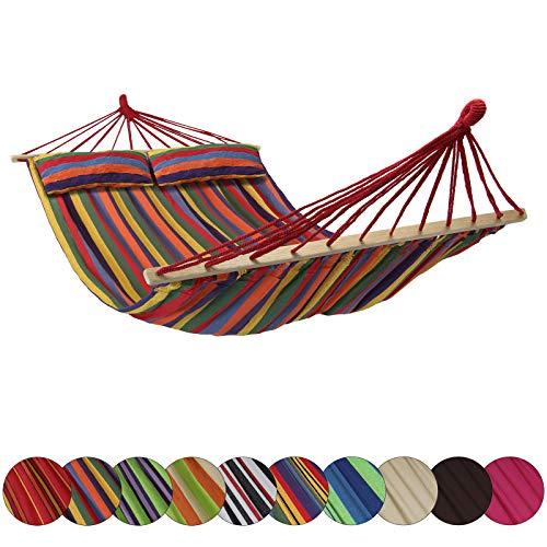 atte CIBAO inkl. 2 Kissen Liegefläche 240 x 150 cm in vielen Farben Traglast 300 kg für 2 Personen, Farbe:Jamaica ()