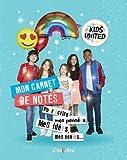 Mon carnet de notes Kids United : Pour écrire mes pensées, mes idées, mes envies...