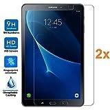 Pack 2X Pellicola salvaschermo per Samsung Galaxy Tab A6 T580 2016 10.1', Vetro temperato, di qualità Premium Tablet, Elettronica Re®