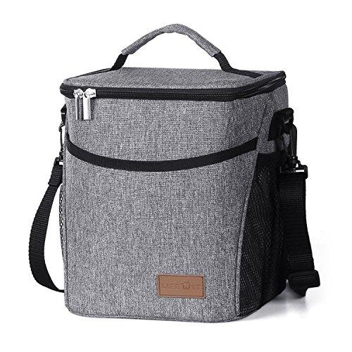Lifewit Lunchtasche Mittagessen Tasche Thermotasche Kühltasche Isoliertasche Picknicktasche für Lebensmitteltransport 9L