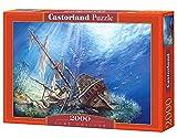 Castorland C-200252 - PUZZLE 2000 TEILE - Sunk Galleon