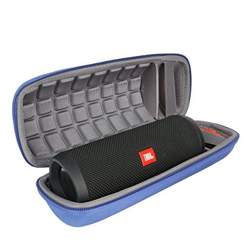 Hart Reise Schutz Hülle Etui Tasche für JBL Flip 4/3 EIN voll ausgestatteter Wasserdichter und mobiler Bluetooth-Lautsprecher von co2CREA (blau)