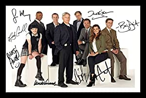 NCIS Autographed Signed And Framed Poster Photo
