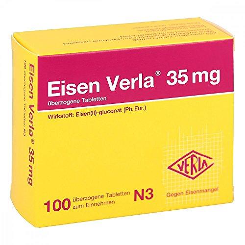 Eisen Verla 35 mg Tabletten, 100 St.