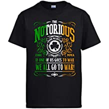 TEESnotoriousCon In The Hood - Camiseta - Cuello redondo - para hombre T0vOsw