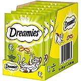 Dreamies Katzensnacks Klassiker / Katzenleckerli mit wertvollen Vitaminen und Mineralstoffen / Thunfisch / 6 x 60g