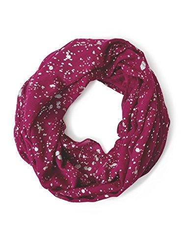 Street One Damen 570507 Wiebke Schal, Rot (Warming Berry 21118), One Size (Herstellergröße: A)