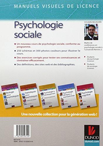Manuel visuel de psychologie sociale - 2e éd
