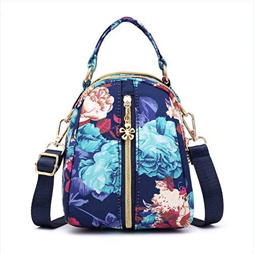 MMKONG Mode Frauen Handtasche Bunte Druck Marke Messenger Bags Mode Jugend Mädchen Umhängetasche Weiblichen Einkaufs Mini Einkaufstasche-Dreamy Flowers - Marke Messenger