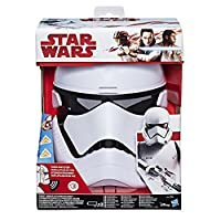 Star Wars - Stormtrooper of the First Order Electronic Voice Changer Mask cambiavoce Role Play Episode 8 The Last Jedi