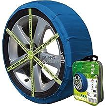 DRIVETEX4X4-47 - Kit compuesto por 2 fundas- cadenas textiles turismos DRIVETEX hielo/nieve talla 4x4-47, compatible con neumático 245/70 R15, 255/70 R15, 235/75 R15, 215/80 R15, 225/80 R15, 275/60 R16, 255/65 R16, 235/70 R16, 215/75 R16, 205/80 R16, 275/55 R17, 245/60 R17, 255/60 R17, 235/65 R17, 215/70 R17, 275/50 R18, 245/55 R18, 255/55 R18, 225/60 R18, 235/60 R18, 275/45 R19, 285/45 R19, 245/50 R19, 255/50 R19, 275/40 R20, 285/40 R20