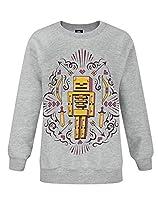 Minecraft Skelly Dreams Girl's Sweatshirt (7-8 Years)
