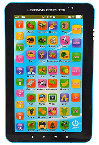 Maharaj Unique Multi Function Educational Learning Tablet Computer Toy for Kids