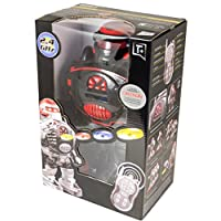 ThinkGizmos Remote Control Robot - RoboShooter - Fires Discs, Dances, Talks - Super Fun RC Robot