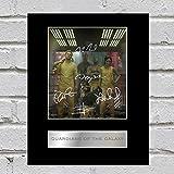 Guardians of the Galaxy Foto Display Chris Pratt, Vin Diesel, Zoe SALDAÑA, Dave Bautista und Bradley Cooper