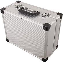 iWork L-80-003 - Maleta de aluminio para herramientas (34 x 27.6 x 16.2 cm) color plata