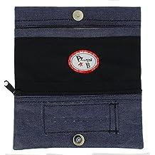 TABAQUERA Plan B Modelo TheOne Tejana -Funda para tabaco de liar de diseño casual con compartimentos para boquillas, papel y picadura/ TheOne Tejana