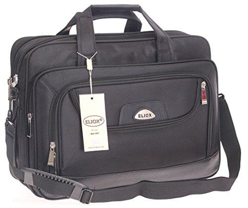 Preisvergleich Produktbild Laptoptasche mit viel Platz, Raumwunder, Notebooktasche, Arbeitstasche,Herren Umhängetasche, Schultertasche, Männer