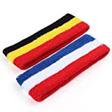 Sport Head Bands Sweat Bands Tennis Basketball Yoga Gym Badminton