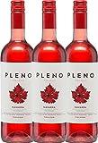 3er Paket - Pleno Rosado DO 2017 - Bodegas Agronavarra | trockener Roséwein | spanischer Wein aus Aragonien | 3 x 0,75 Liter