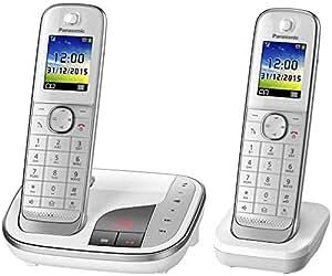 panasonic kx tgj322gw familien telefon mit elektronik. Black Bedroom Furniture Sets. Home Design Ideas