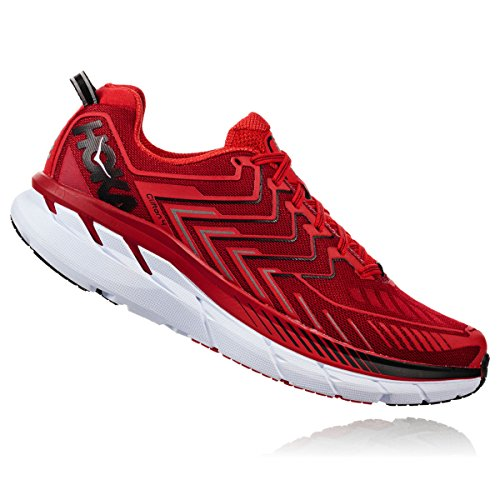 Hoka One One Clifton 4 Red High Risk Red Rot